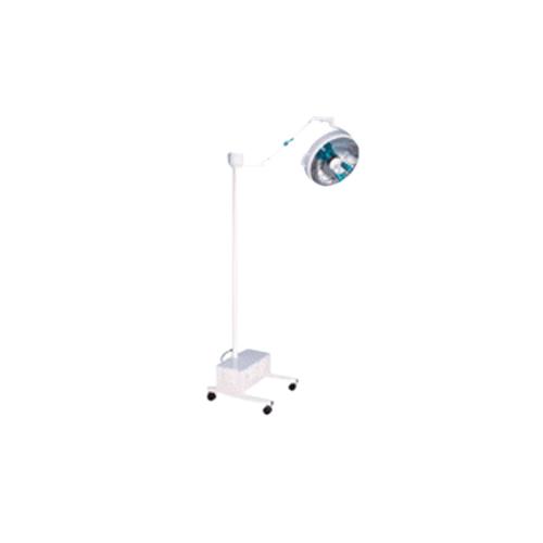 Lampara de quirofano luz halogeno de piso con ruedas NV051513