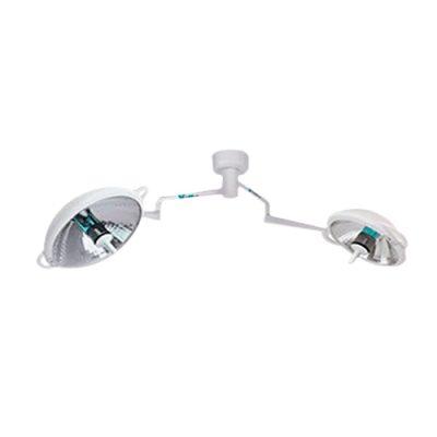 Lampara de quirofano luz halogeno 2 campanas