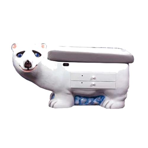 Mesa de examinación de oso polar